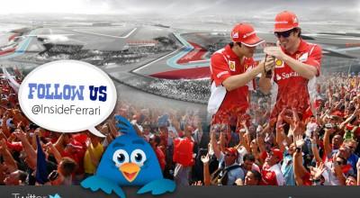 Twitter, marcas, clubes y deportistas. Ferrari, twitter y Fernando Alonso.