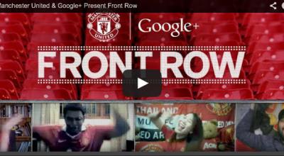 Manchester United y Google plus: dos líderes  y una gran campaña.