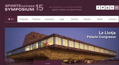 SPORT BUSINESS SYMPOSIUM. Lleida Abril 2015.