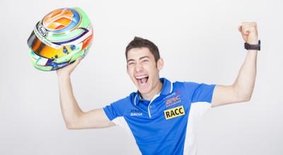 Desarrollamos la imagen digital de el joven piloto de rallyes Carles Duran
