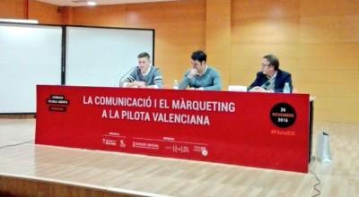 Jornada sobre Marketing y Comunicación en la Pilota Valenciana